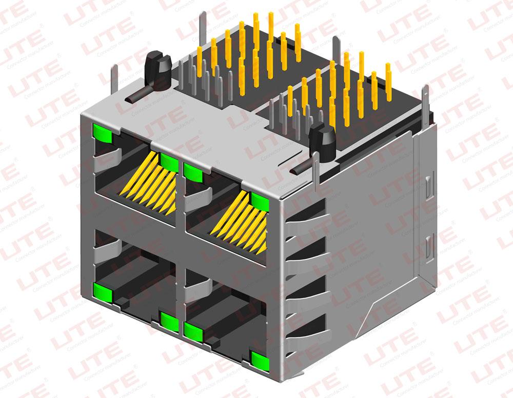 RJ45插座接口工作原理及相关信息【UTE分享】